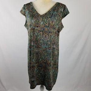 Soho Apparel Ltd | Paisley Shift Dress